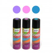 KIT 3 Sprays Color Aspa - ROSA, AZUL, ROXO (para tatoo)