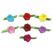 Rosas Coloridas - 24 unidades