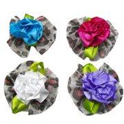 Fuxico Print Rosas - com 18 unidades