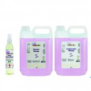 Banho Tropical Tchuska - Shampoo Condicionador e Brilho Pitanga