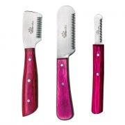 Kit Facas Stripping Tchuska - com 3 facas